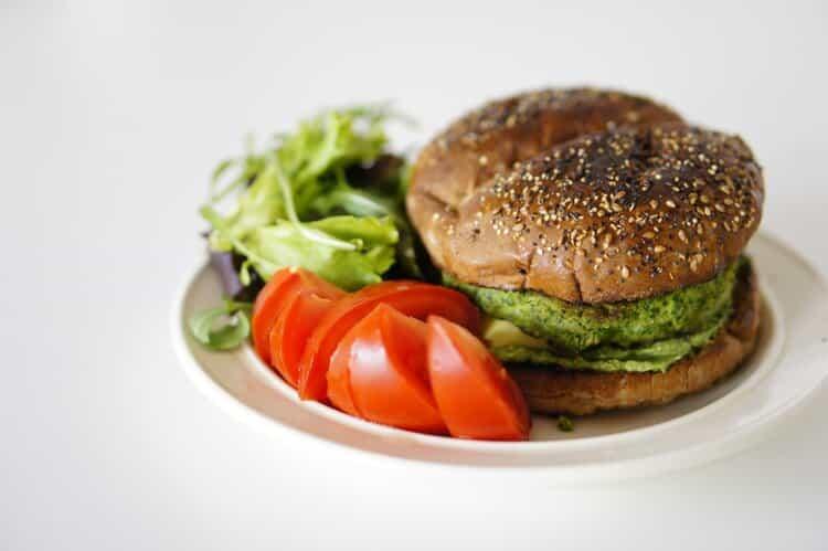 hamburguesa sana
