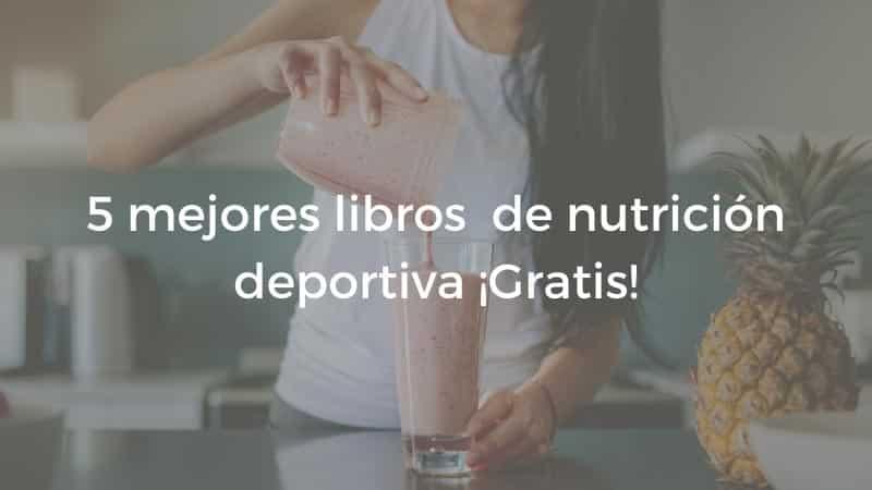libros nutricion deportiva