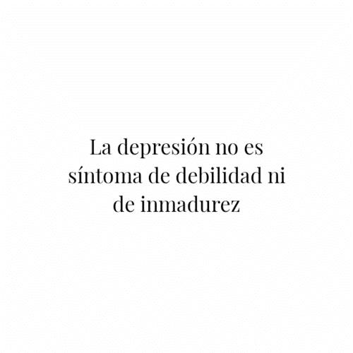 testimonios depresion