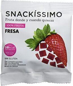 snack de fresa