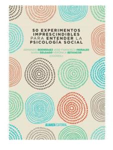 50 experimentos en psicologia social