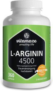 suplemento de arginina
