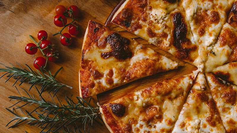 Recetas de pizzas saludables