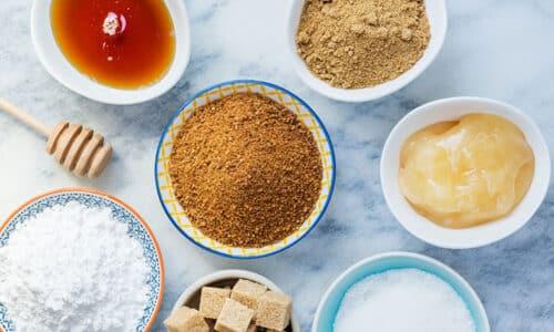 Tipos de azúcar