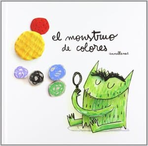 monstruo de colores pop up libro