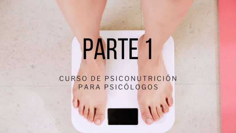 Video curso psiconutrición