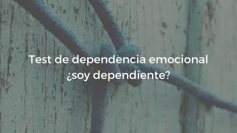 test dependencia emocional