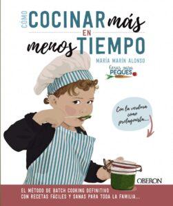 cocinar mas en menos tiempo libro