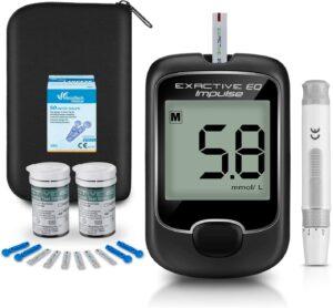Medidor de glucosa en sangre, kit de prueba de glucosa en sangre
