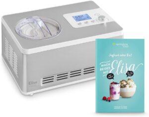 Heladera yogurtera 2 en 1 ELISA con compresor de refrigeración