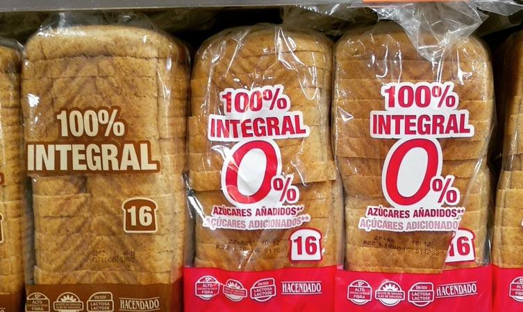 pan integral mercadona