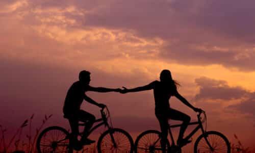 parejas felices