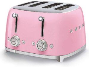 smeg tostador rosa