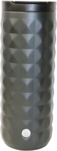 Starbucks Luxor Black Matt Edition - Taza térmica de acero inoxidable