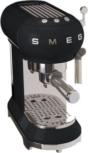 Smeg Máquina de café expreso ECF01BLEU